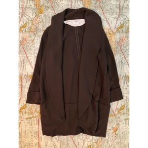 ωιℓfяє∂ - Dark Olive Open Blazer Jacket
